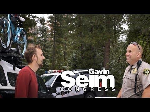 Klamath Sheriff Finds Gavin in the Wilderness.