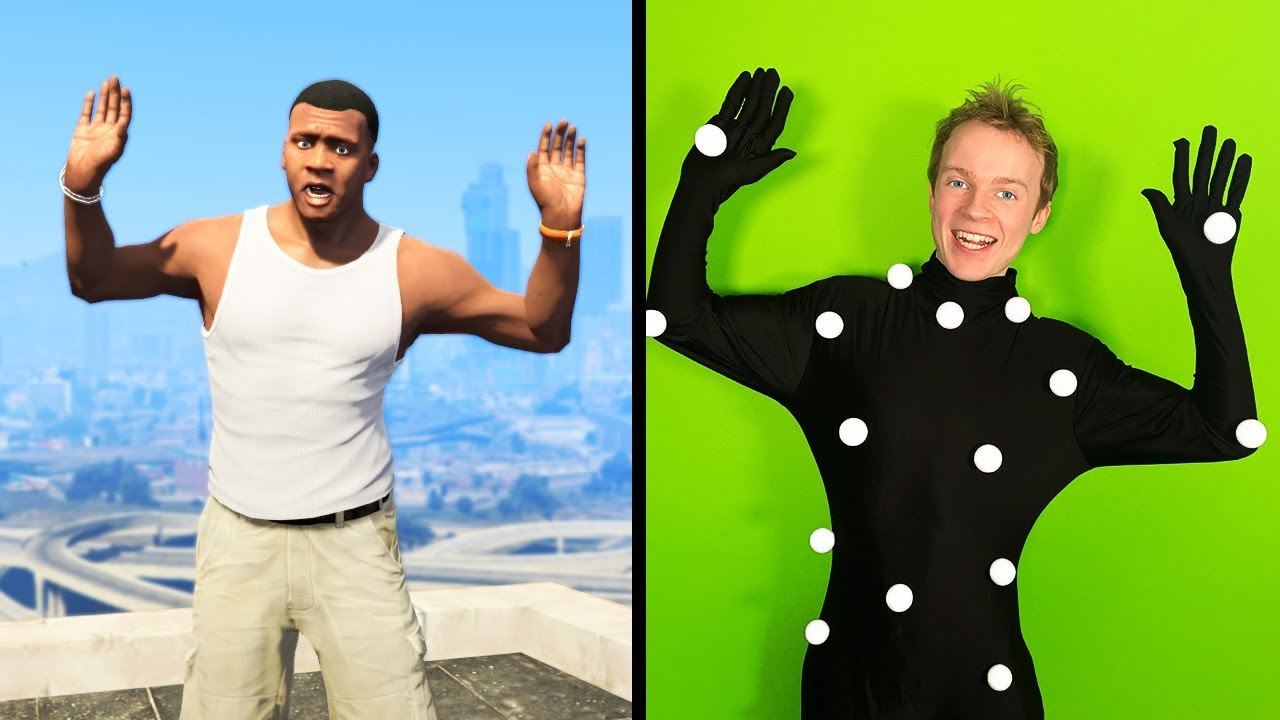 GTA 5 - MY BODY Controls the CHARACTER! thumbnail