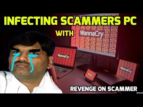 Infecting A Scammers NETWORK With WannaCry!