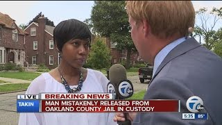 Mother speaks out after son was accidentally released from jail