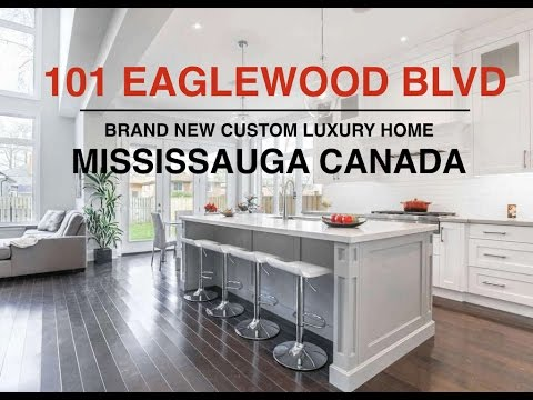 101 Eaglewood Boulevard Mississauga Canada | Brand New Custom Luxury Home For Sale in Mineola