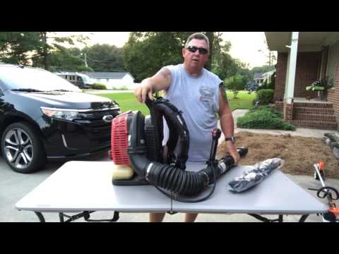 Review of the Shindaiwa EB 802 Backpack Blower