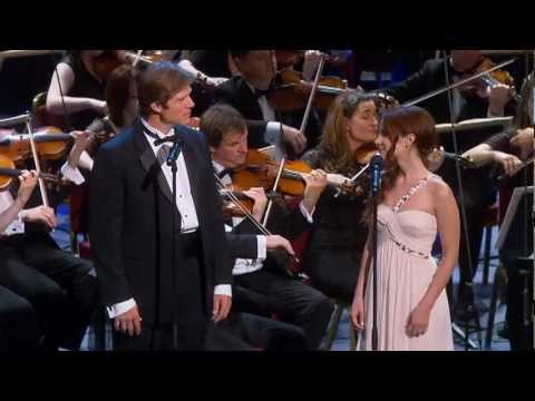 Sierra Boggess & Rodney Gilfry singing Something Good from BBC Proms 2010