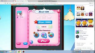 Candy Crush Saga level 1690! NO BOOSTERS