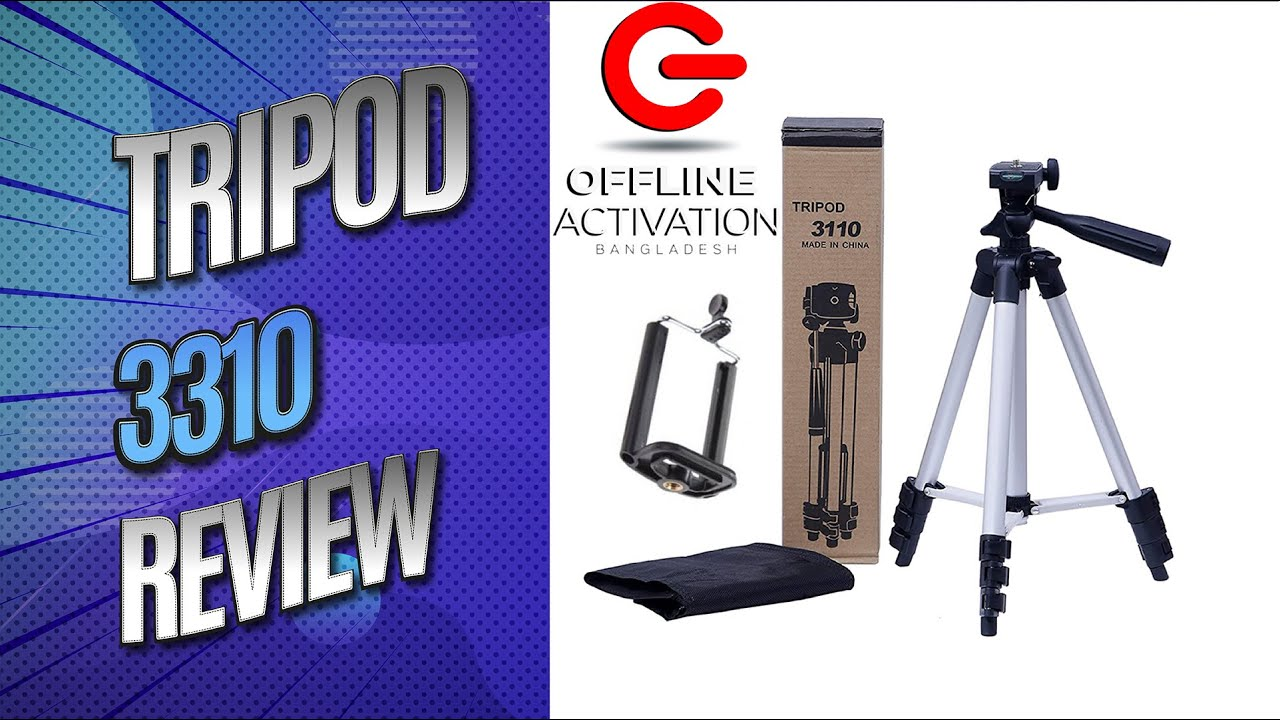 Tripod 3110 Unboxing and Overview | Bangla | Full HD