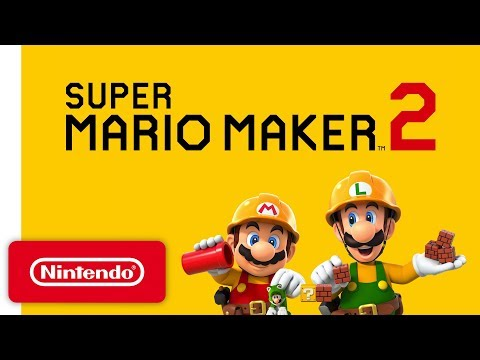 Super Mario Maker 2 - Announcement Trailer - Nintendo Switch
