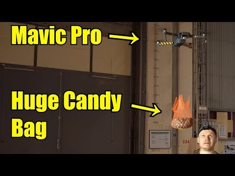 How Much Candy Can a Mavic Pro Lift?