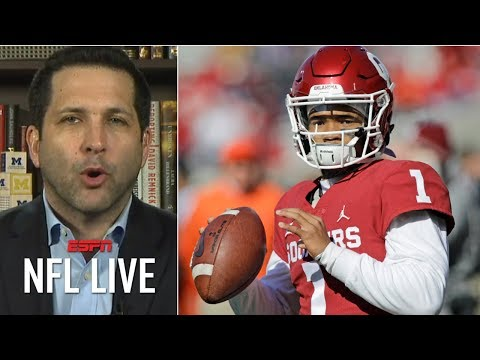 Kyler Murray will be an NFL draft first-round pick – Adam Schefter | NFL Live