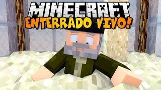 Minecraft | ME ENTIERRAN VIVO!! | Minijuego RELOJ DE ARENA!