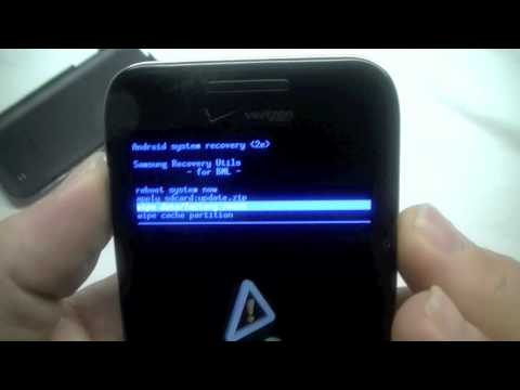Samsung Fascinate Hard Reset