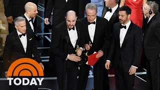 'La La Land' Mistakenly Announced As Oscars Best Picture, 'Moonlight' Wins | TODAY