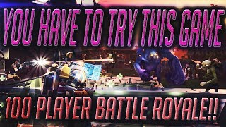 FORTNITE - 100 PLAYER BATTLE ROYALE ON CONSOLE!!! YOU NEED TO GET THIS GAME!