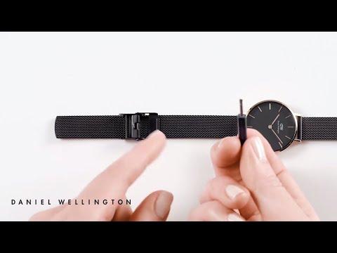 How to adjust your Ashfield strap - Daniel Wellington