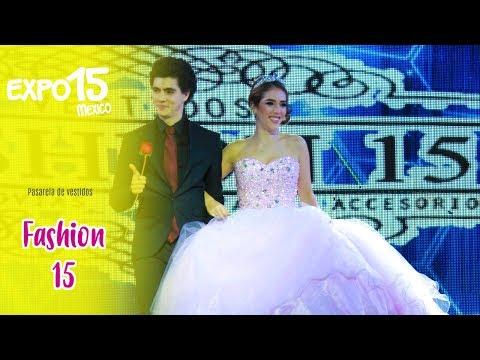 Expo 15 Pasarela de vestidos por Fashion 15