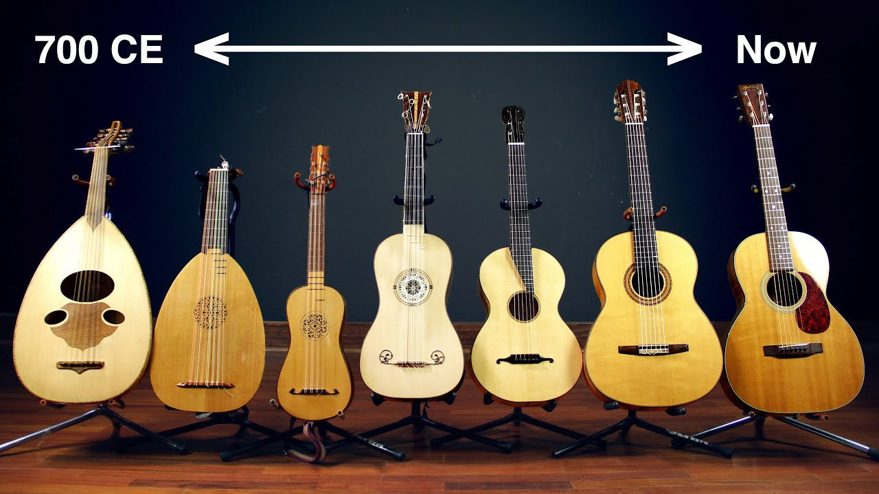 The History of the Guitar: See the Evolution of the Guitar in 7 Instruments