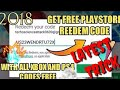 100% Working redeem code on play store,H
