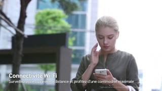 Cuisinière Samsung avec connexion Wi-Fi NE58K9560