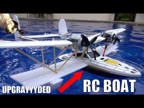 FLYING Walmart RC Boat MODS!!!