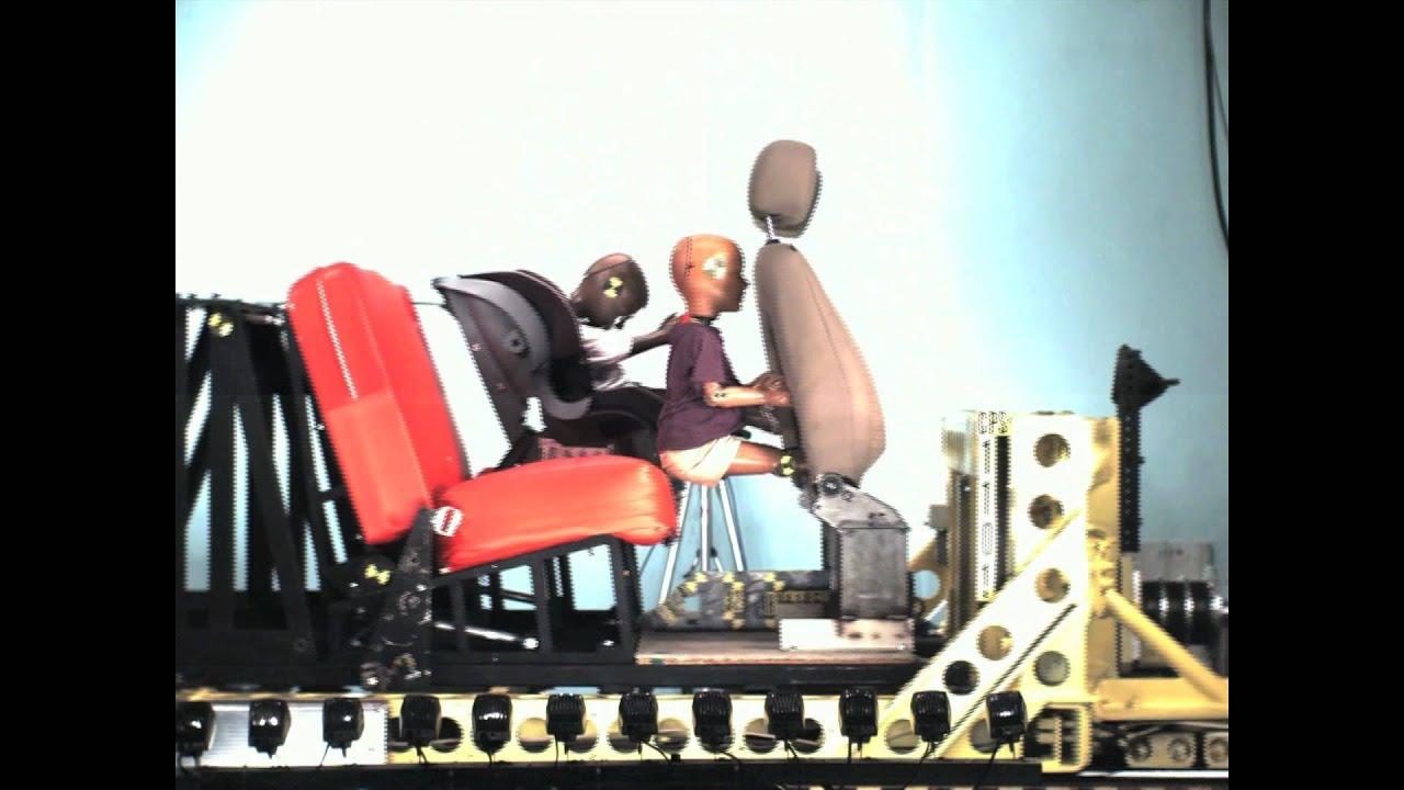 Car Seat Crash Test - YouTube