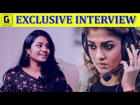 I Am Nayanthara's Voice : Srinisha | Ilaiyaraaja | Imaikkaa Nodigal | Lady Superstar | Hiphop Adhi |
