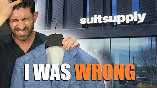 I Was WRONG about Suitsupply! (Suitsupply Review & Store Tour)