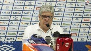 Coletiva Geninho - Avaí 0 x 1 Fortaleza - Série B - 10/11/2018