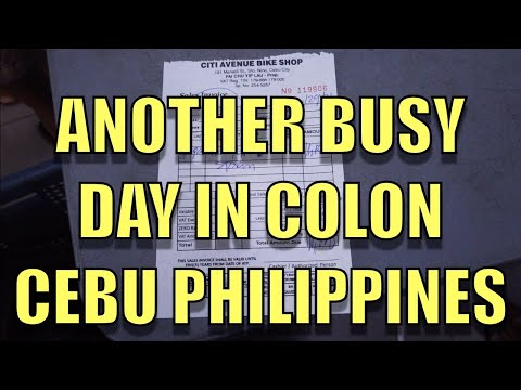 Another Busy Day In Colon. Cebu, Philippines.