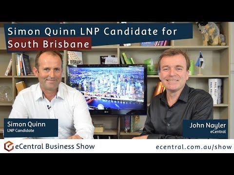Simon Quinn LNP Candidate for South Brisbane 2017