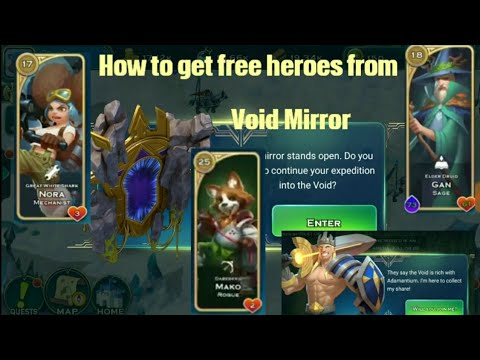 free heroes from void mirror guide 1 art of conquest aoc gameplay