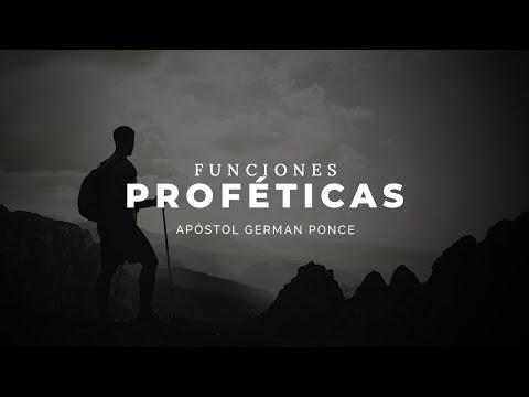 Apóstol German Ponce │ Funciones Proféticas