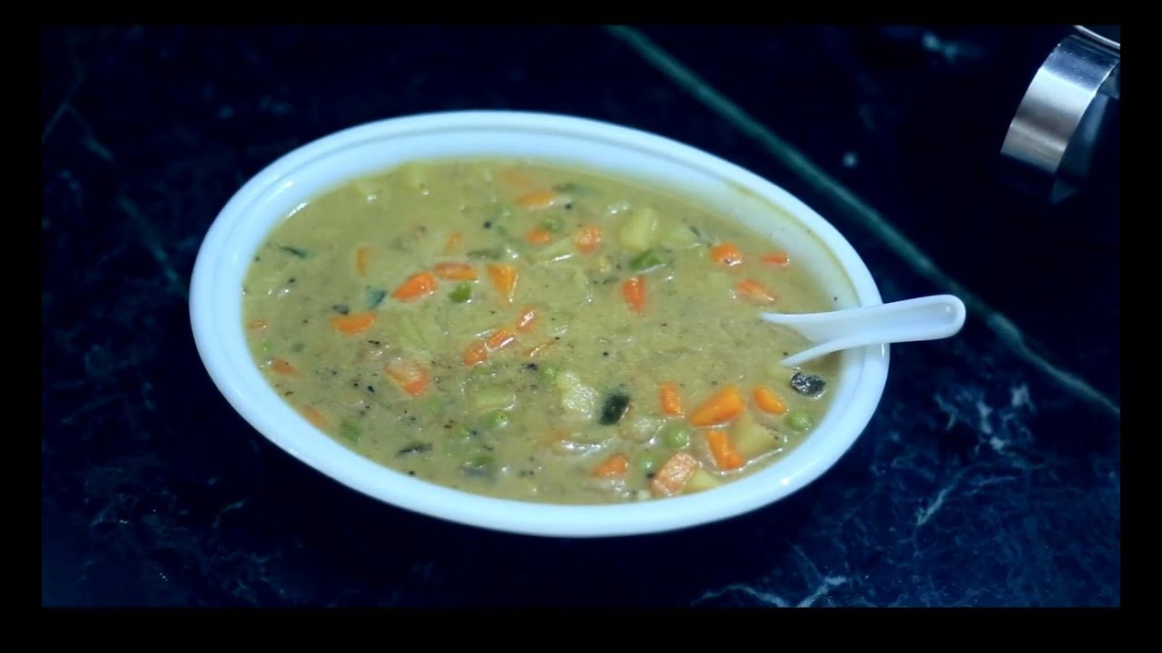 Vegetable Stew Kerala Style Video Recipe Youtube