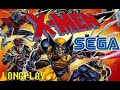X-Men (Sega Genesis/MegaDrive) (1993) Longplay