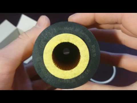 Масляный фильтр MAHLE FILTER OX 173 1D и его аналоги