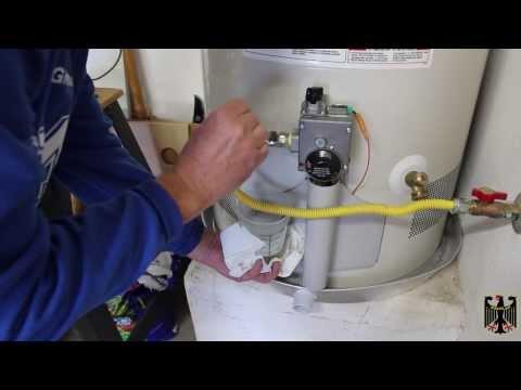 GE Hot Water Heater Installation