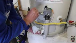 GE Hot Water Heater Installation