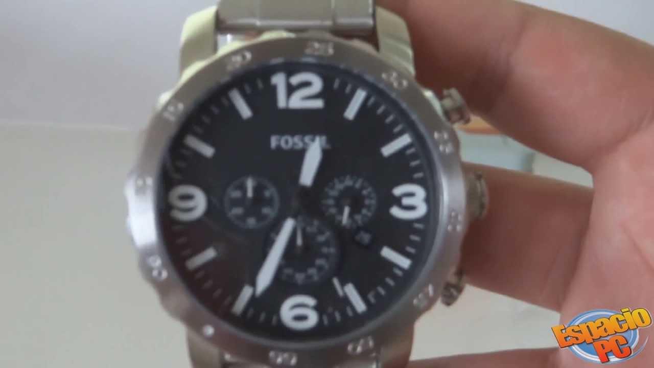 17c355c7ce14 Fossil JR1353 - Reloj hombre - YouTube