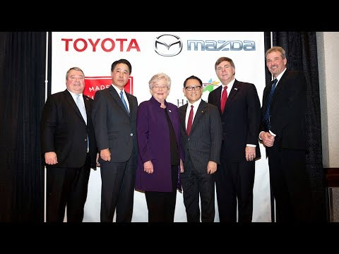 [Highlights Version] Press Conference on Toyota and Mazda's New U.S. Joint Venture Plant