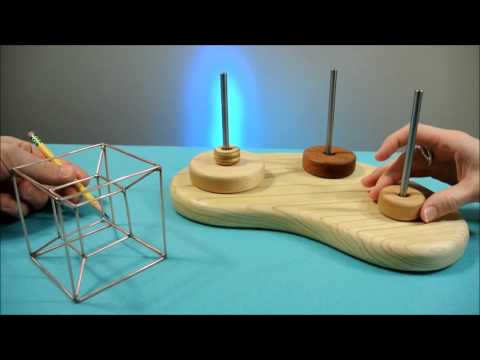The Tower of Hanoi and Tesseract relationship