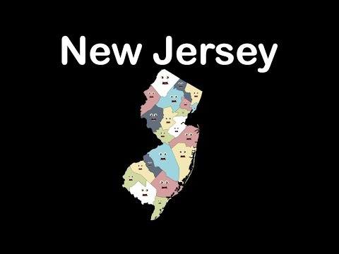 New Jersey/New Jersey State/New Jersey Geography Counties
