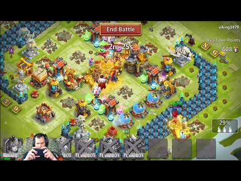 JT's Main Demogorgon Sniping Guild Wars Castle Clash