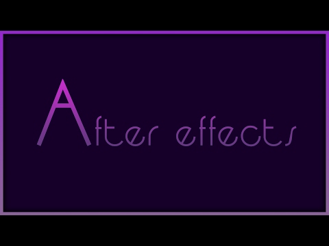 Adobe After Effect Moving 3D Lines tutorial - YouTube