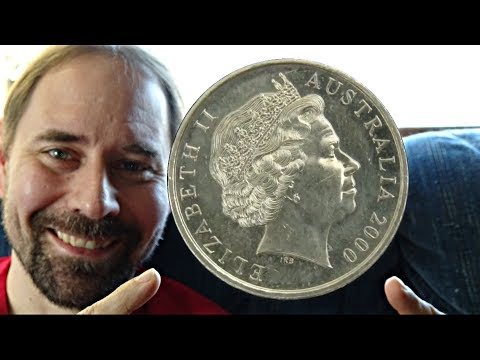Australia 20 Cent 2000 Coin