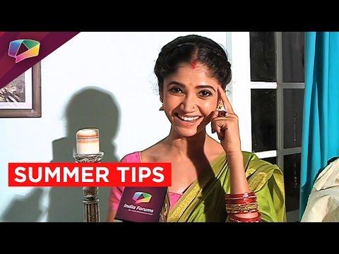 Ratan Rajput Shares Some Cool Summer Tips!