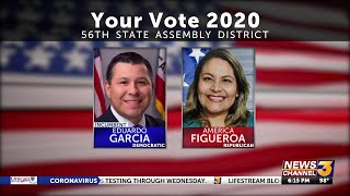 Local candidates America Figueroa and Assemblyman Eduardo Garcia vie for California's 56th ...