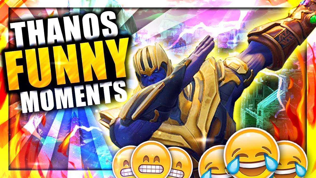 Fortnite THANOS Gameplay WTF Epic Moments - Fortnite Funny Moments