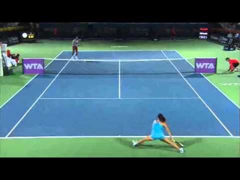 Serena Williams vs. Jelena Jankovic | Full Highlights | Dubai Tennis Championships 2014(QF)