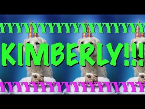 HAPPY BIRTHDAY KIMBERLY! - EPIC Happy Birthday Song