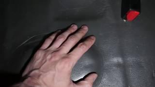 Шумопоглощающая панель под сидение  своими руками