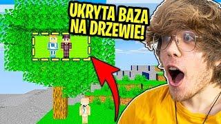 Jak Długo Mogę Żyć W BAZIE NA DRZEWIE Widza Zanim Zauważy? - Minecraft Extreme !