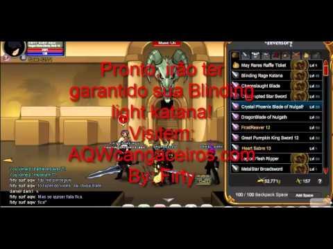 aqw how to get blinding aura